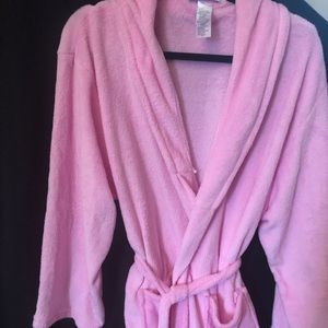 Other - Pink plush robe